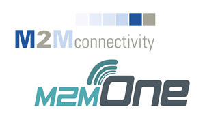 M2M Connectivity and M2M One logos
