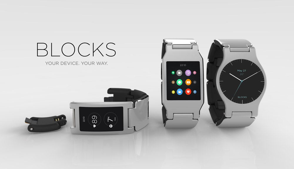 The BLOCKS smartwatch