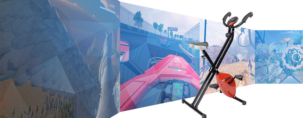 The VirZoom VR exercise bike
