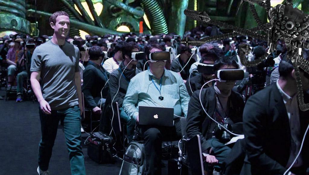 The Matrix Gear VR scene