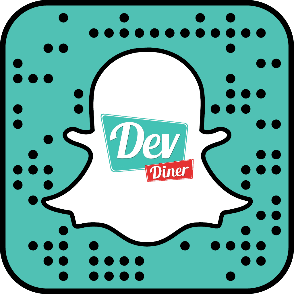 Snapcode for devdiner