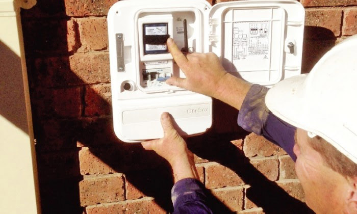 A OneBox being installed