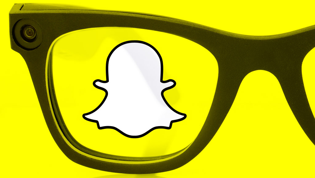 Epiphany Eyewear with the Snapchat logo