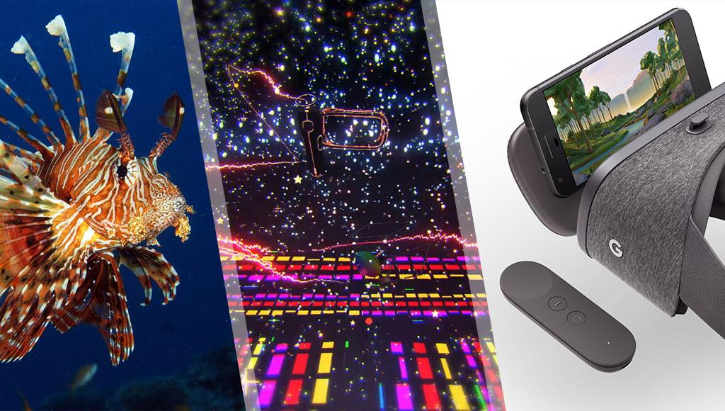 Lionfish, Tilt Brush and Daydream VR