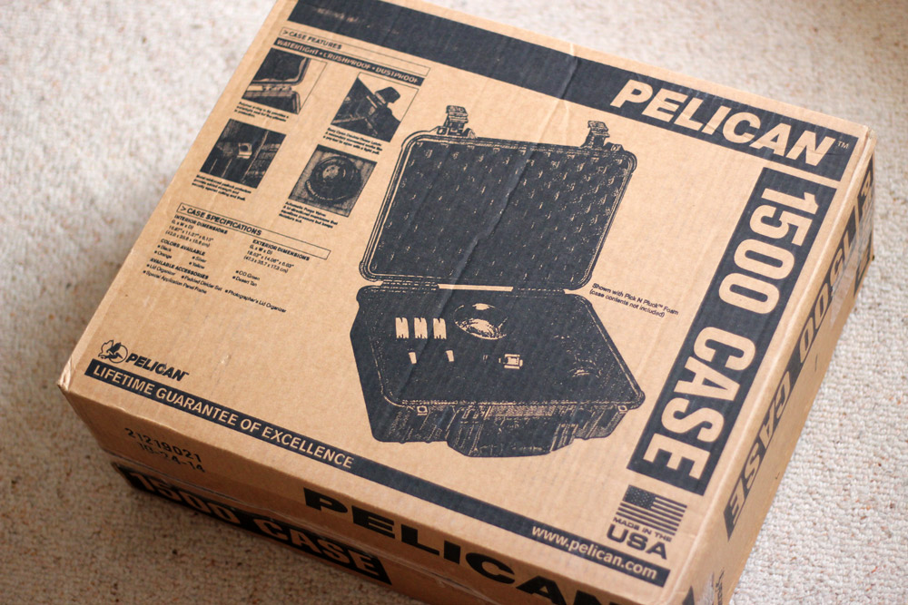 The Pelican 1500 box