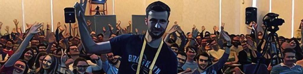 Alexey Moiseenkov at an event