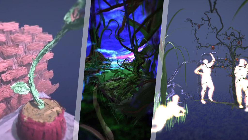 Tilt Brush samples from each artist
