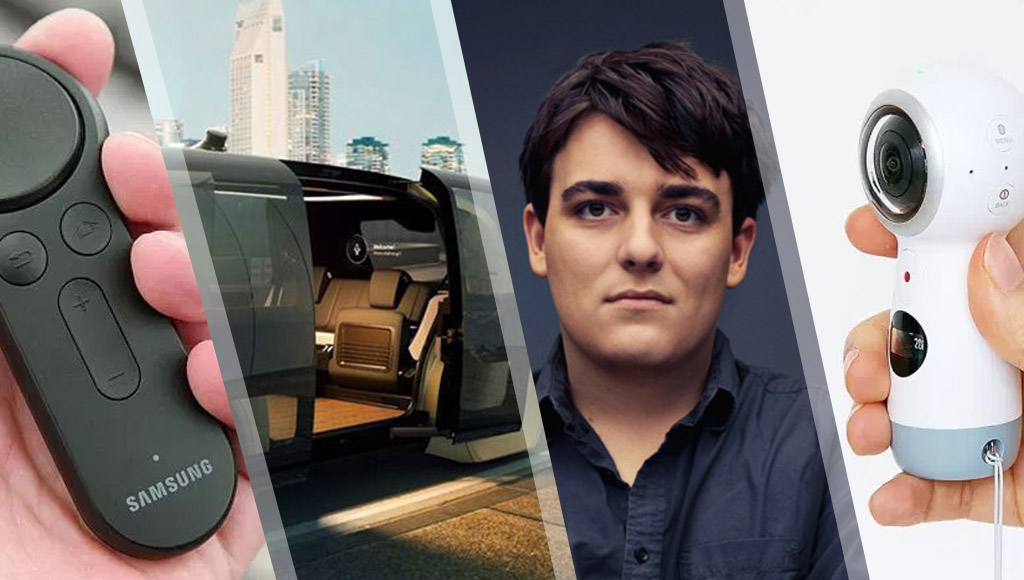 Gear VR controllers, fancy autonomous pods, Palmer Luckey and a Gear 360 camera!