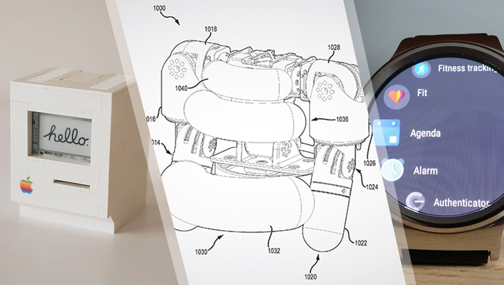 A tiny Raspberry Pi powered Macintosh, Disney's robot patent and an Android Wear watch