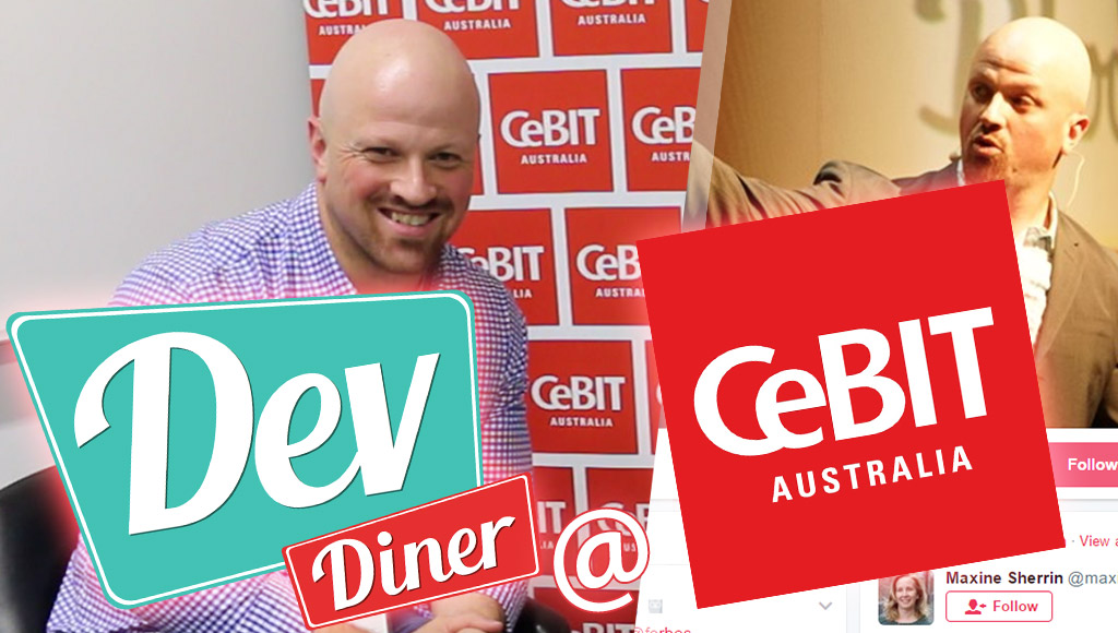 Building dragons and our mixed reality future with Daniel Newman at CeBIT Australia