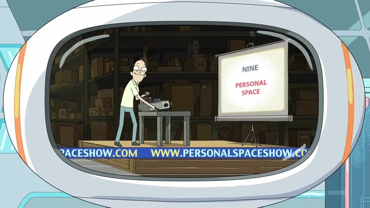 Rick and Morty Personal Space scene