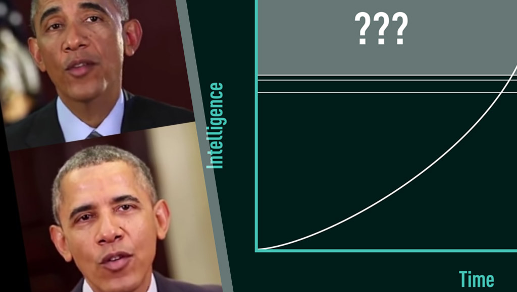 Obama generated by AI and the exponential growth of AI