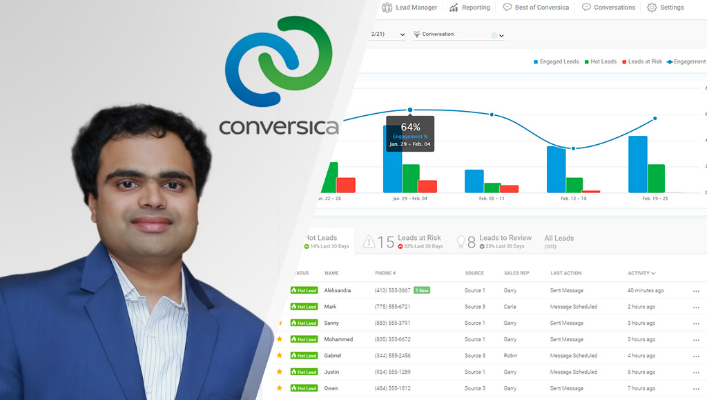 Sid and the Conversica platform