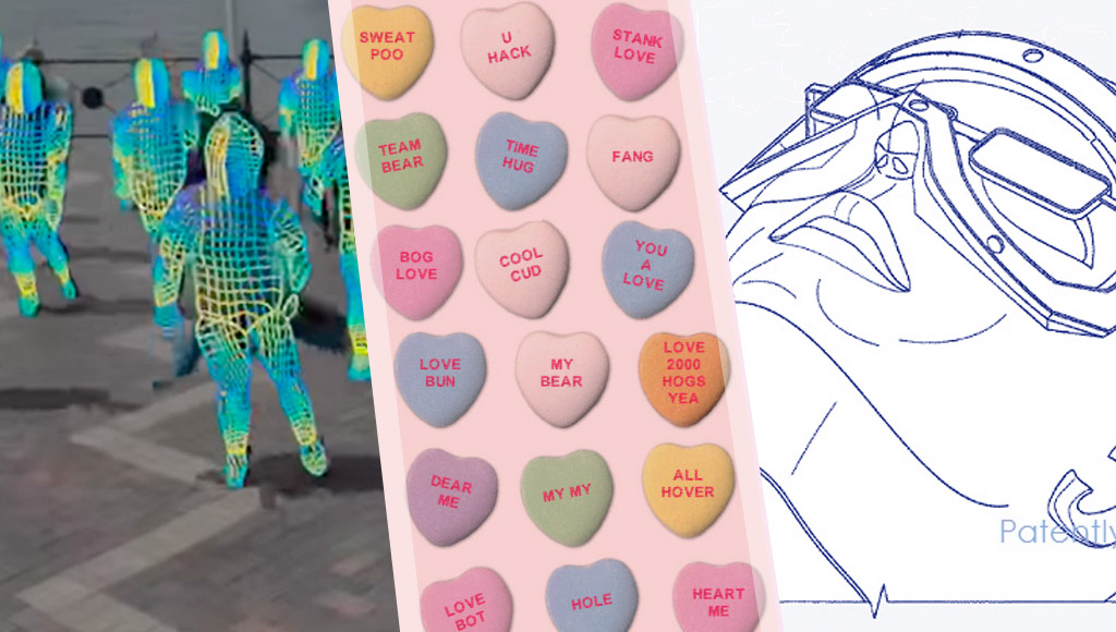 Facebook's re-skinning AI, the sweetest love heart messages ever and Apple's new VR/AR patent