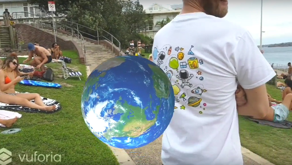 A augmented fashion example from the video
