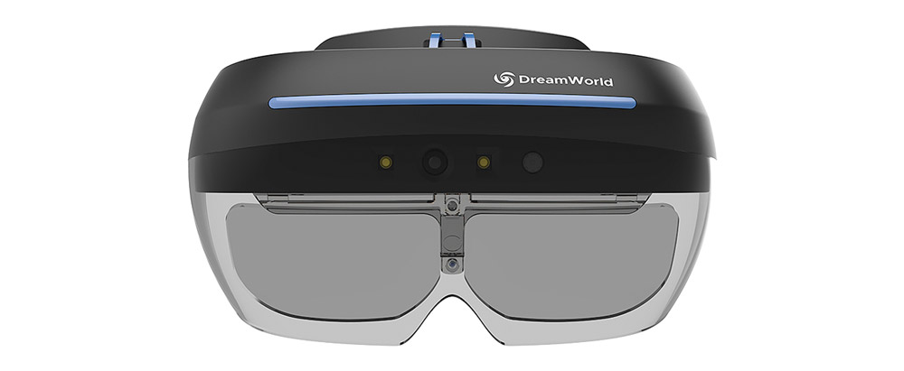DreamWorld's AR headset