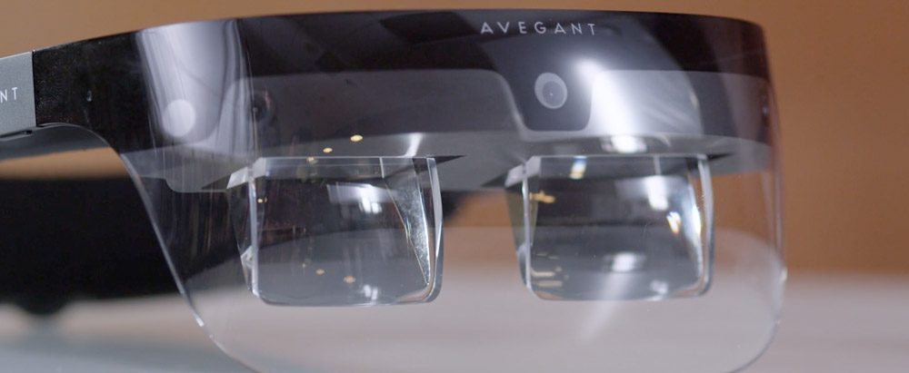 Avegant Lightfield headset