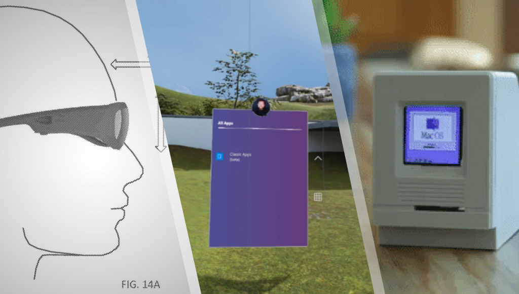 HoloLens 2 patent, Windows Mixed Reality can run Win32 apps and a super tiny Macintosh