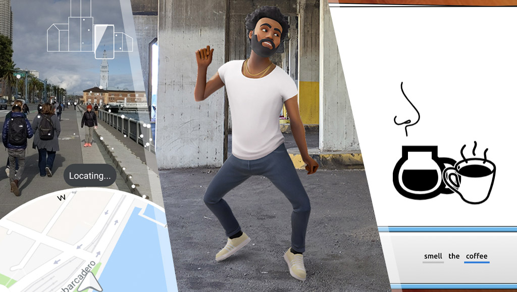 Google Map's AR mode, Childish Gambino dancing away in AR and AI Pictionary