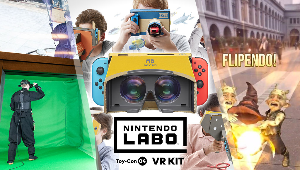 A VR Ninja Dojo, Nintendo's VR headset and the Harry Potter Niantic game preview!