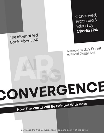 "The cover of ""Convergence, How The World Will Be Painted With Data"""