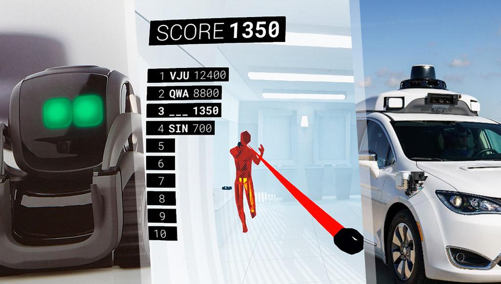 Vector, Superhot VR Arcade Edition and LiDAR