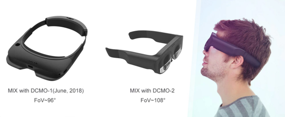 MIX-1 headset compared to the MIX-2 headset