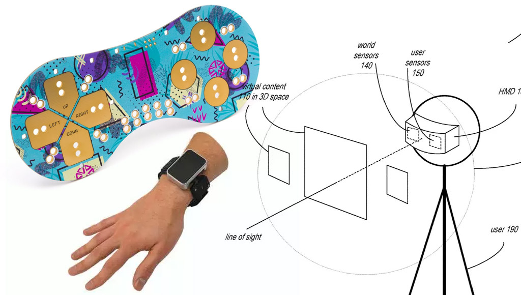 Little Bird's colourful PCBs, Facebook's haptic wristband prototype and Apple's face tracking AR headset