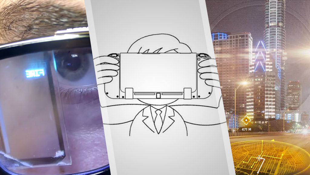 A DIY pair of E.D.I.T.H. smart glasses, a new Nintendo VR patent, a high res AR headset concept