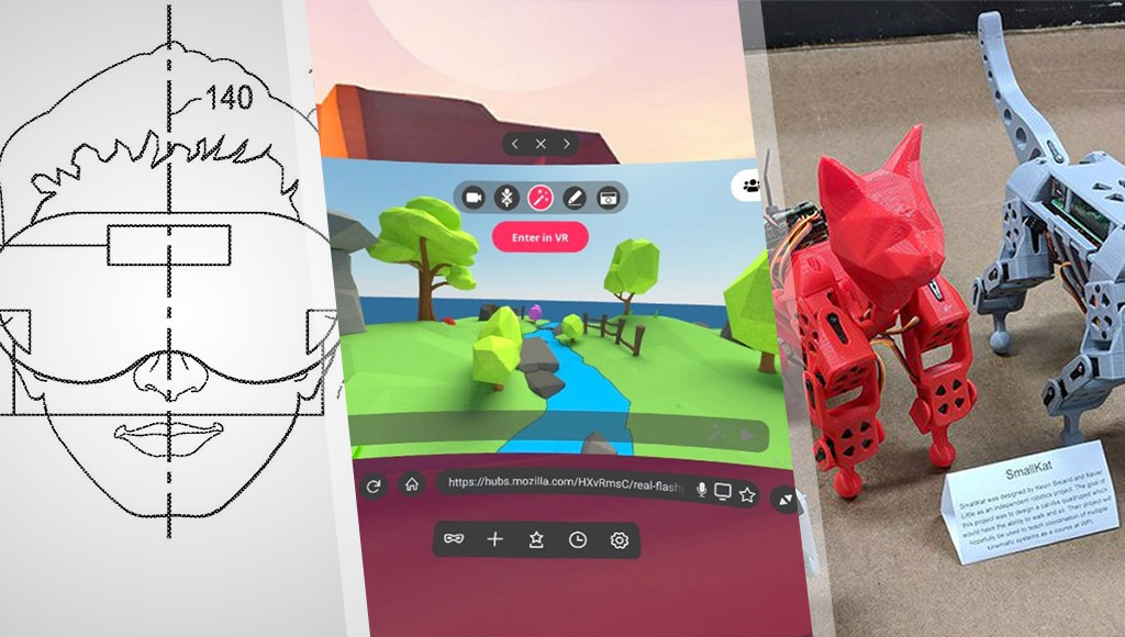 Google Stadia VR headset patent, Firefox Reality and open-source robot cats