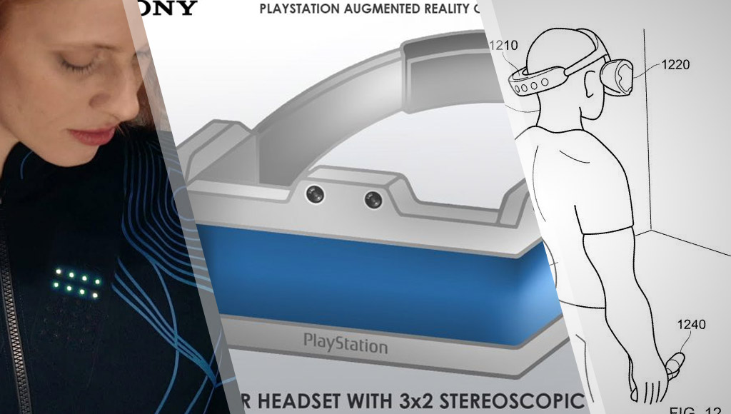 A jacket to help the blind feel sound, Sony's AR headset patent and PSVR 2 patent