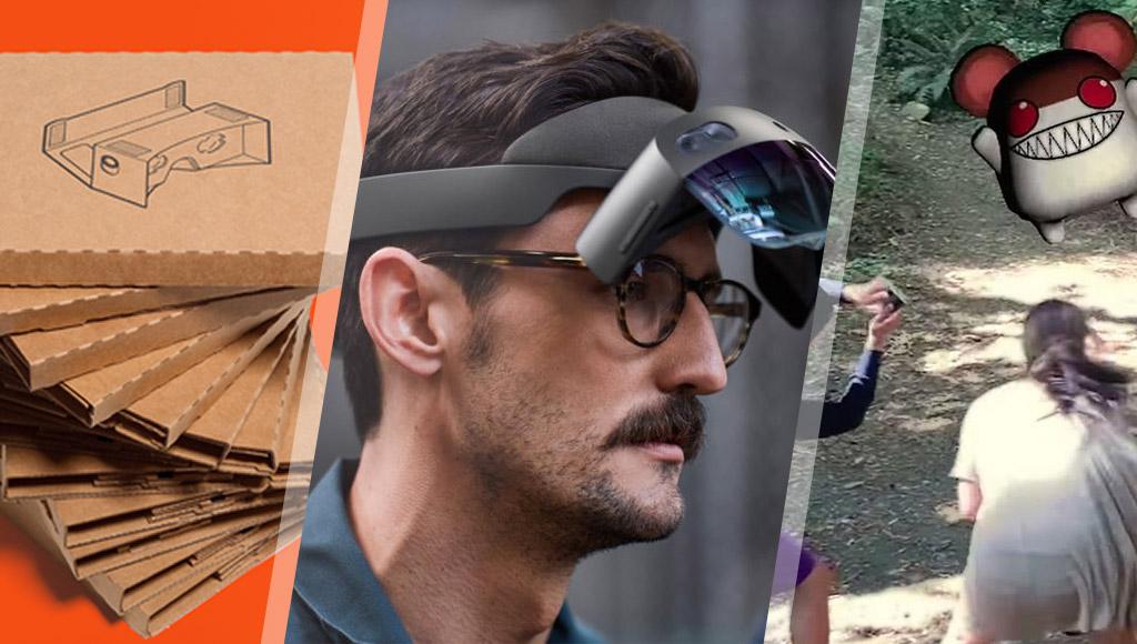 Google Cardboard, HoloLens 2 and Niantic's AR Cloud!