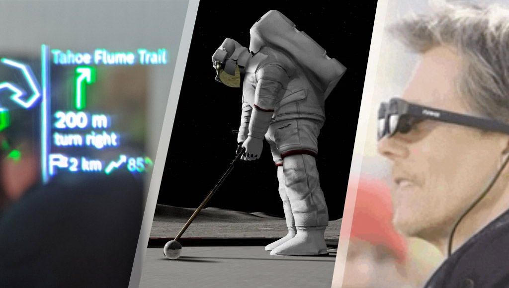 New Bosch smartglasses, VR Moon Golf and Kevin Bacon wearing Nreal Light